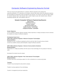 Software Engineer Resume Objectives Unique Software Trainer Resumes