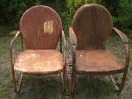 antique metal outdoor furniture. httpcgiebaycomvintagepairmetal antique metal outdoor furniture