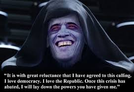 Palpatine Quotes Extraordinary Emperor Barack Hussein Palpatine Gates Of Vienna