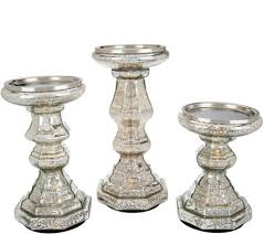 mercury candle holders. Beautiful Candle S3 Illuminated Mercury Glass Candle Holder Pedestals By Valerie And Holders I