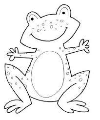 Printable Frog Coloring Pages Colouring For Kids Frog Coloring