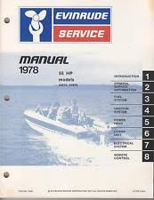 evinrude 55 hp outboard 1978 evinrude outboard motor 55 hp p n 5396 service manual 222