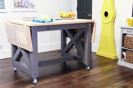 kitchen island table on wheels. Perfect Table Stunning DIY Kitchen Island On Wheels Small Islands Within Ideas 11 Intended Table E
