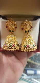 Buttalu Designs Gold Ashtalakshmi Jhumki 15 Grams Shagun Jewellers Alwal Gold