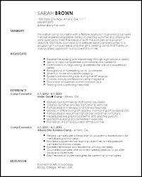 Sample Counselor Resume Program Counselor Resume Residential