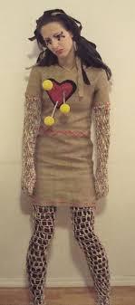 diy voodoo doll costume makeup collab with katie