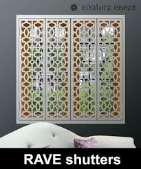 Security Window Shutters In Exclusive Designs For Modern Windows. Transform  Your Interior With Decorative Custom Made Interior Window Shutters