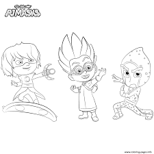 Small Picture Villains PJ Masks Coloring pages Printable