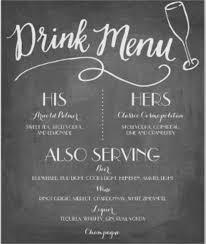 wedding drink menu. 43 Wedding Menu Samples Free Premium Templates