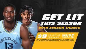 Season Tickets Memphis Grizzlies