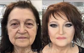 best make up artist transformation photos