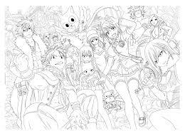 Les 25 Meilleures Id Es De La Cat Gorie Coloriage Manga Sur
