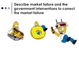 market failure essay market failure