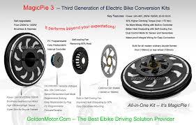 golden motor d i y kits electric bike motor hub motor electric bike kit bike conversion kit magicpie