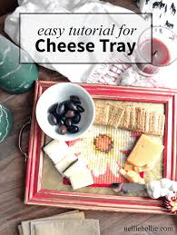make your own cheese tray from a frame an easy to follow tutorial for a