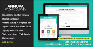 bootstrap survey form annova survey wizard by ansonika themeforest