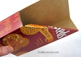 Magazine Holder From Cereal Box Cereal Box Magazine Holder 25