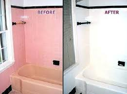 bathtub paint bathtub refinishing
