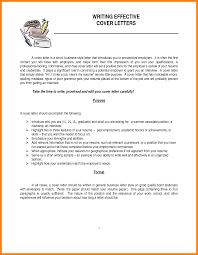 9 Effective Cover Letters Personel Profile