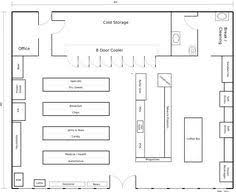Convenience Store Layout  Floor Plan Convenience Store « Mithril Retail Store Floor Plans