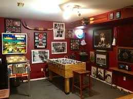 Image Of Top Small Basement Game Room Ideas