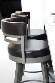 swivel bar chair. Amisco\u0027s Ronny Swivel Barstool With Short Back And Round Seat Bar Chair U