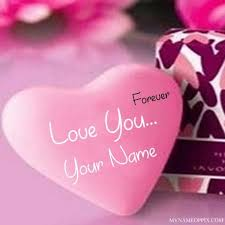 Forever Love U With Name Profile Image Write My Name Love U Profile Awesome Love Pics With Name Edit