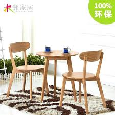 cafe dining table and chairs o wood wood round small apartment dinette cafe white oak style cafe dining table and chairs