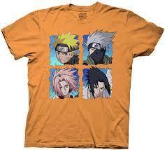Ripple Junction T-Shirt Naruto Shippuden 4 Heads - Orange - X-Groß:  Amazon.de: Bekleidung