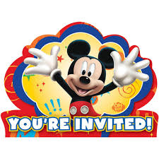 Make Your Own Mickey Mouse Invitations Disney Mickey Fun And Friends Invitations Walmart Com