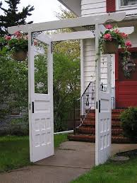 another great use for old doors