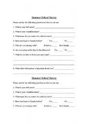 Personal Information Sheets Personal Information Worksheets