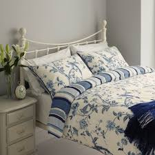 laura ashely summer palace royal blue duvet cover
