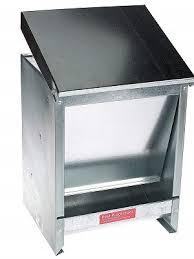 automatic galvanized metal pet feeder premium