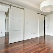 bring luxe simplicity to any room with our triple panel sliding door this door is