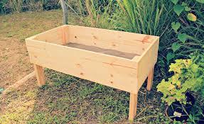 above ground garden ideas. Above Ground Garden Box Wood Ideas