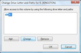 change drive letter step 3
