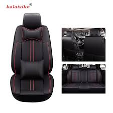 <b>kalaisike high quality leather</b> universal car seat covers for SEAT ...