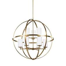 alturas 9 light satin bronze chandelier with led bulbs