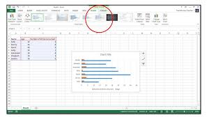 How To Insert Charts Into An Excel Spreadsheet In Excel 2013