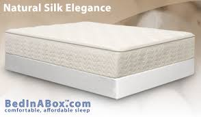 mattress in a box. bed in a box natural silk elegance review mattress