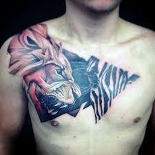 40 Zebra Tetování Pro Muže Safari Pruhované Nápady Designu