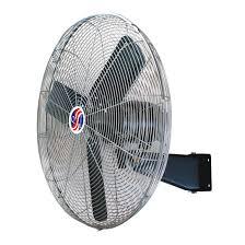 q standard oscillating wall mount air circulator 20