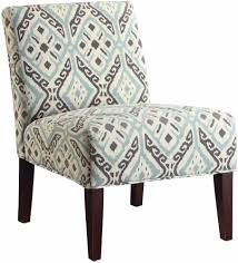 Blue And Brown Accent Chair Unique Fabric Chair Furniture Warehouse Chicago