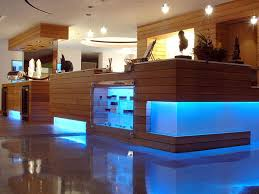 cove lighting ideas. This Blue LED Cove Lighting Sets The Mood For Retail Store Ideas