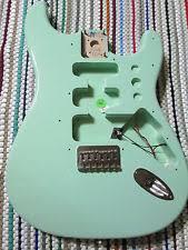 fender tom delonge fender tom delonge surf green electric guitar body rare