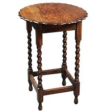english antique barley twist round side table english rounding with additional inspiring exterior tips
