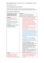 Seminar Assignments Source 1 For The Annotated Bibliography