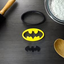 Batman Superhero Cookie Cutter Fondant Cutter Classic Black