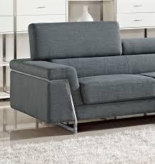 modern fabric sofa set. Justine - Modern Fabric Sectional Sofa Set